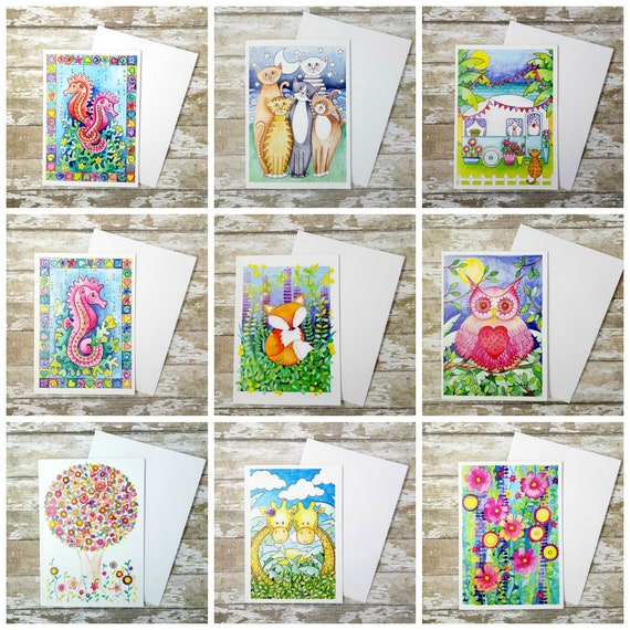 Greetings cards buy 2 get 1 free greetings cards birthday etsy image 0 m4hsunfo