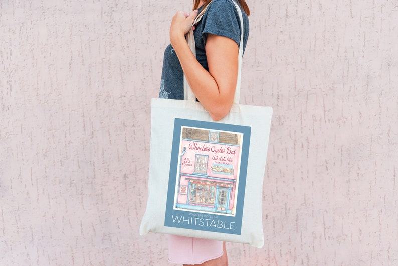 Wheelers Oyster Bar Whitstable Tote Bag image 0