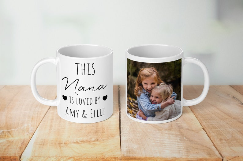 This Nana Is loved Personalised Mug image 0