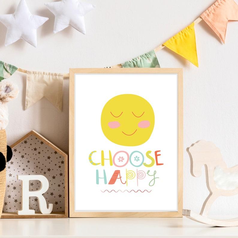 Choose Happy Print image 0