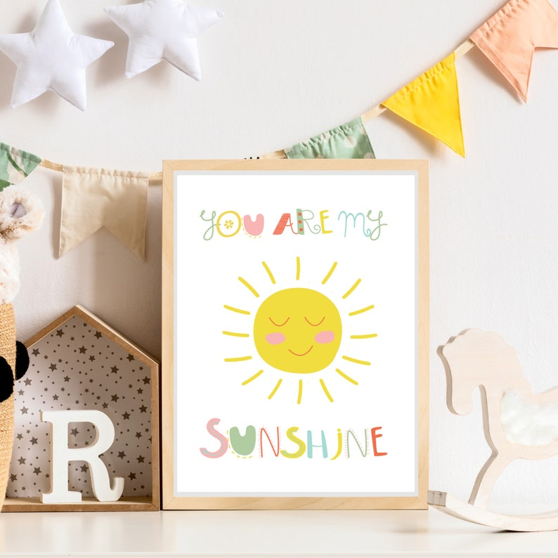 You Are My Sunshine Print image 0