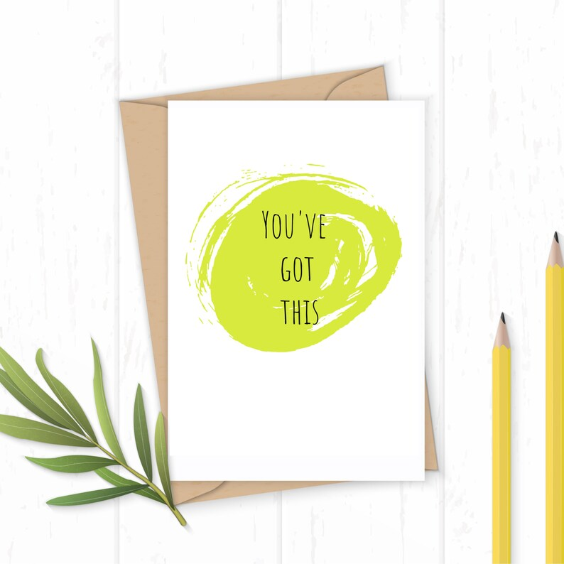 You've Got This  Greetings Card image 0