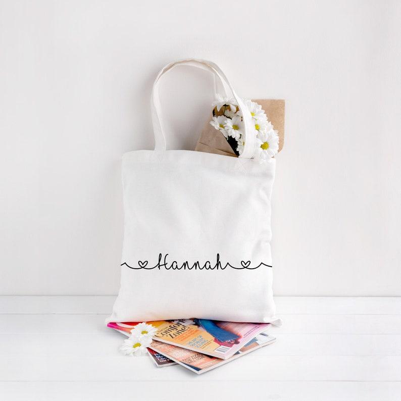 Personalised Eco Tote Bag image 0