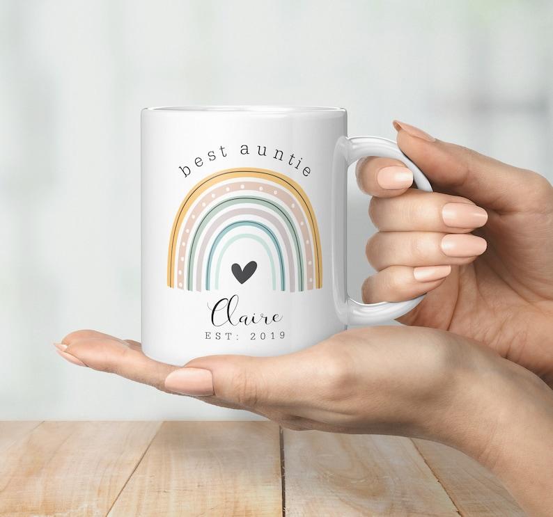 Best Auntie Personalised Mug image 0