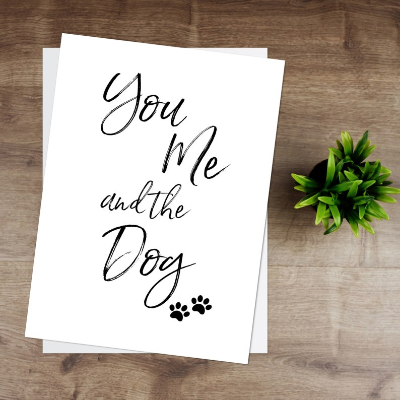 You Me & The Dog   Print image 0