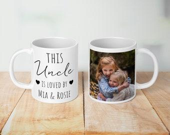 This Uncle Is loved Personalised Mug