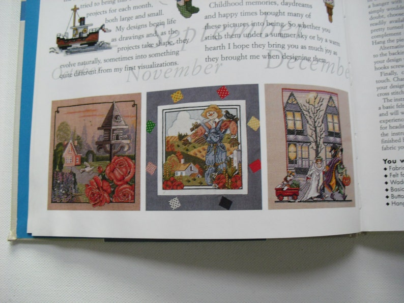 CROSS STITCH Celebrations Month by Month Book 2 pictures hundreds of motifs  UK