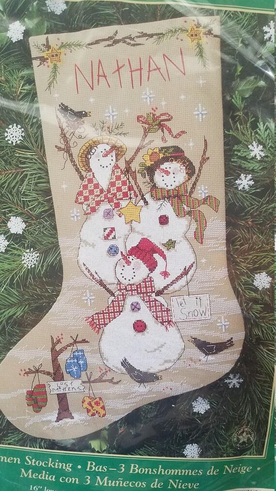 image 0 - Cross Stitch Christmas Stockings