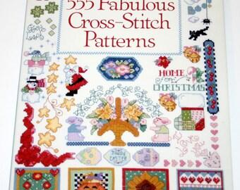 Donna Kooler's 555 Fabulous Cross-Stitch Patterns, Kooler, Donna, Good Book New