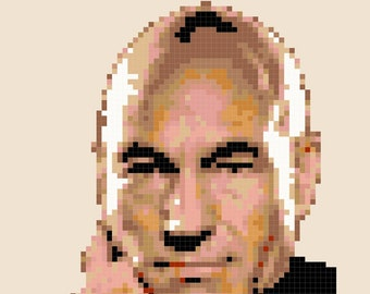 Cross Stitch Patterns -- Set Phasers face version only