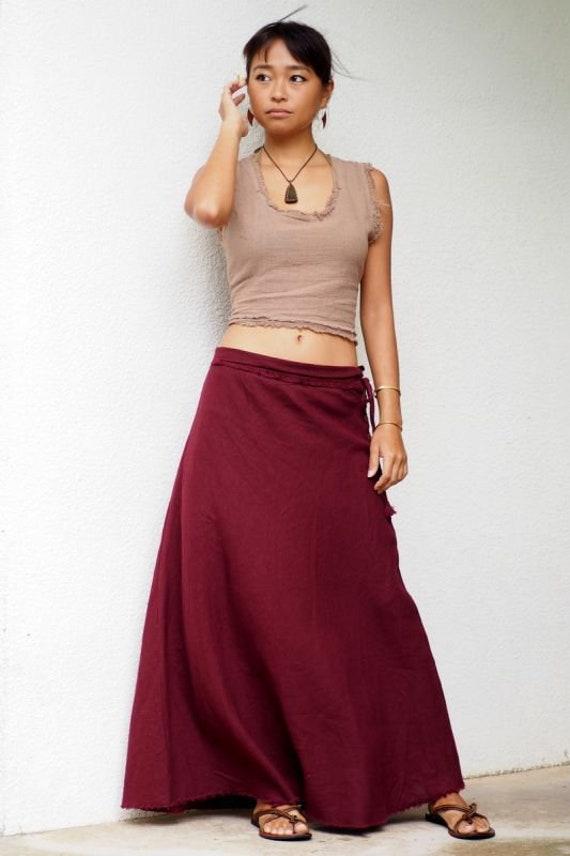 length A Full Bohemian skirt long 3 Vegan length 100 line maxi friendly Hemp skirt Hemp Eco hemp maxi skirt skirt colors skirt skirt long Iwq5PpS