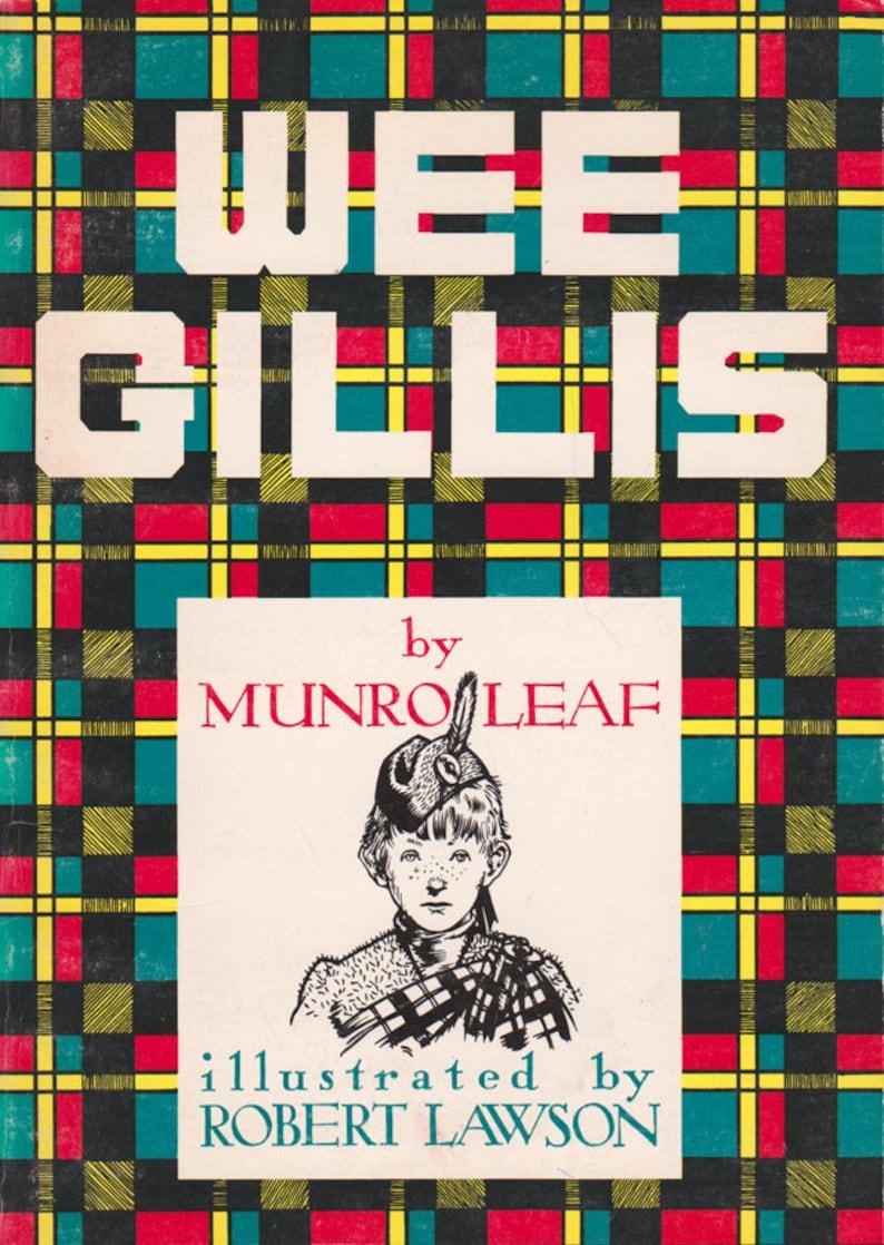 Wee Gillis by Munro Leaf illustrated by Robert Lawson image 0