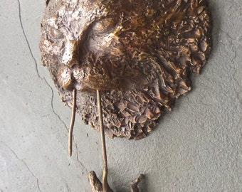 Bronze Cat & Mouse Door Knocker
