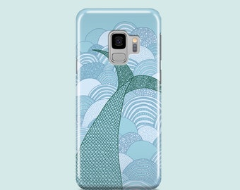 Mermaid Samsung Galaxy S10 case / Samsung Galaxy S9, Samsung Galaxy S8, Samsung Galaxy S7 / mermaids iPhone SE 2020, iPhone 11 Pro, iPhone X