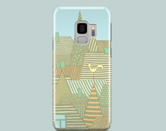 Golden Rooftops Samsung S10 case / citys phone case / Samsung S9, Samsung S8, Samsung S7 / Cityscape iPhone 11 Pro, iPhone SE 2020, iPhone 8