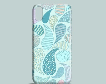 Pastel Paisley mobile phone case, iPhone X, iPhone 8, 8 Plus, iPhone 7 Plus, iPhone SE, iPhone 6S, iPhone 6, iPhone 5S, iPhone 5 cover