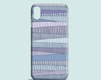 iPhone 12 case Winter Fields, iPhone 12 Pro, iPhone X, iPhone XR, iPhone 8, iPhone 7, iPhone SE 2020, iPhone 6, iPhone 11 blue case