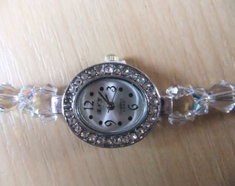 Ladies Swarovski Elements crystal watch