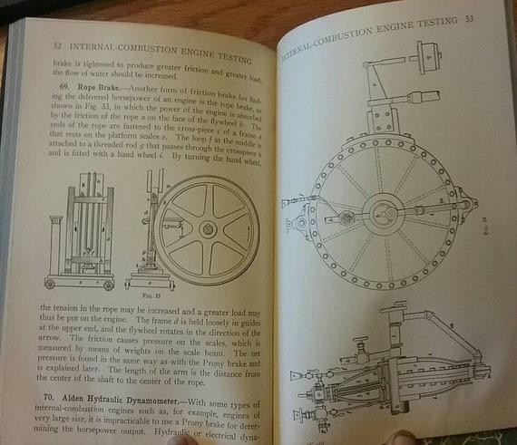 International Textbook Co  Manuals- Alternators &AC Motors, Gas/Diesel  Engine Auxiliaries Testing, Hi-Speed Diesel Engine, from the 1930's