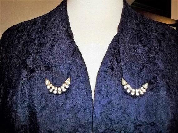 Women Jacket 40's Lace Waist Jacket Lace Bolero J… - image 2