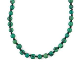 Acai Seed Necklace / Blue Necklace / Collar Necklace / Acai Seed Jewelry / Seed Jewelry / Fair Trade / Layering Necklace / Acai Necklace