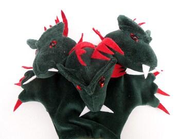 d09bd789357d Tiri-Tara-Tori, the three-headed dragon - hand puppet