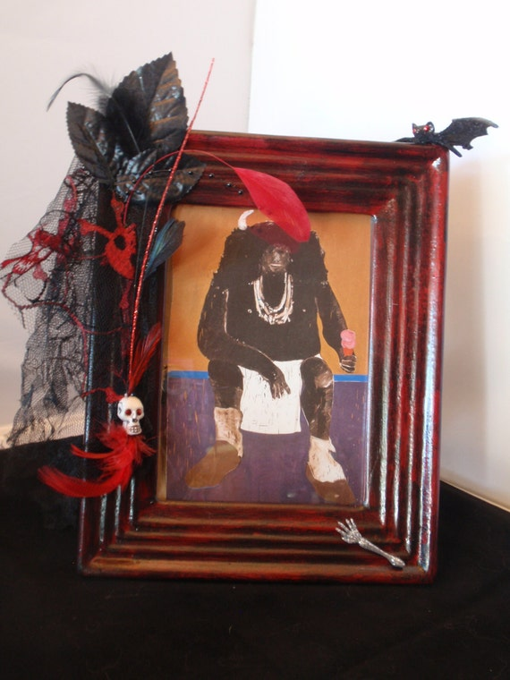 Halloween Picture Frame Etsy