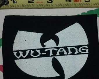 Wu-Tang PATCH - On Black Canvas