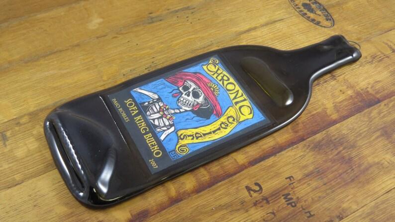 Melted Wine Bottle Chronic Cellars Sofa King Bueno Great Etsy