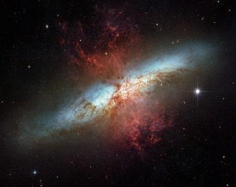 Opo a hubble teleskop astronomie wand kunstdruck auf etsy