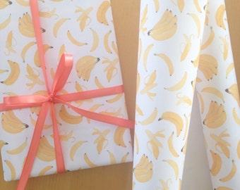 Bananas Wrapping Paper