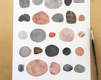 Pacifica Rock Print