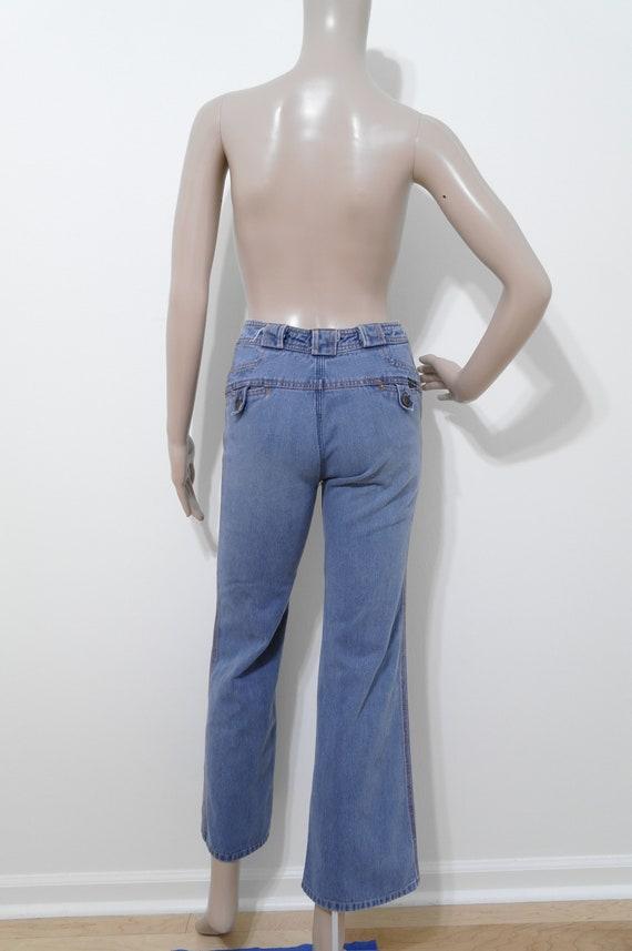 """Vintage N'est Ce Pas? Jeans, 22"""" Waist, 1970s Bel… - image 6"""