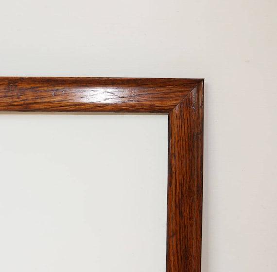 Antique Picture Frame Oak with Original Finish Graceful   Etsy