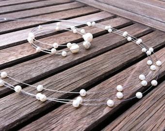 Jewelry Set 4-Piece Bridal Jewelry, Wedding Jewelry Chain Bracelet Curly Earrings