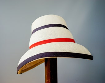 a2d9f5ae87c14 Vintage Straw Cloche Hat