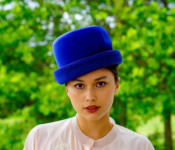 Vintage Elsa Schiaparelli Cloche Hat, Vintage Hat… - image 2