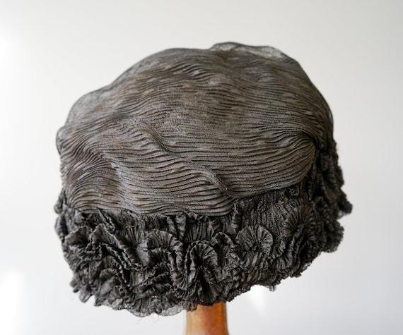 Antique Victorian Boudoir Cap, 1910s-1920s Hat, A… - image 6