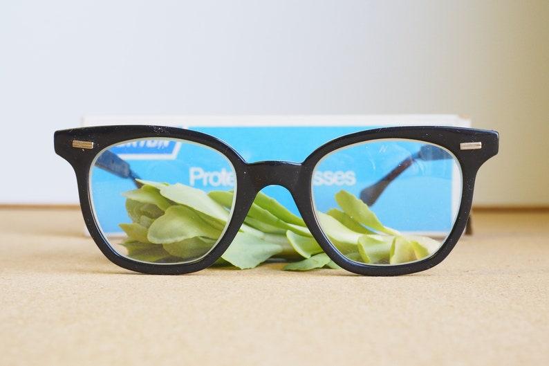 e0ed3f400d6 Vintage Eyeglasses 1970s Glasses New Old Stock Safety Googles