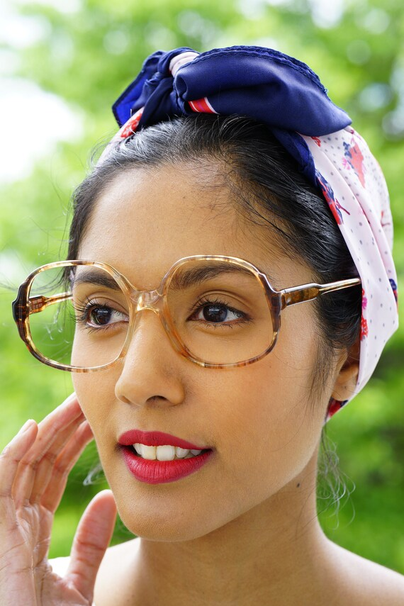d28bd136c30 Vintage 70 s Eyeglass Oversize  New Old Stock Retro