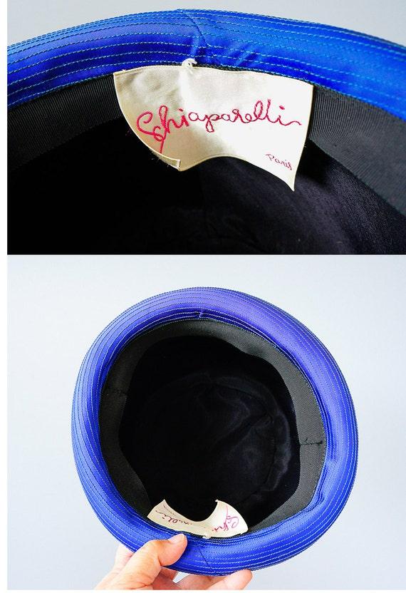 Vintage Elsa Schiaparelli Cloche Hat, Vintage Hat… - image 9