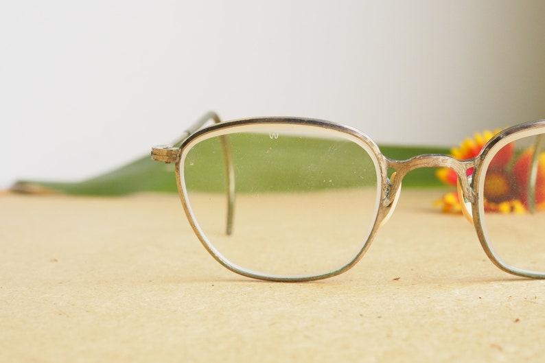 Vintage Welsh Optical Eyeglass 1960s glasses/Frames /Eyeglasses/Hipster/Arnel/Geek safety Glasses Steampunk Gothic