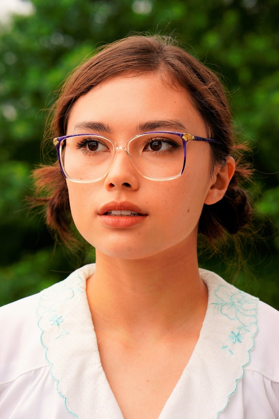 782c22d0dfd Vintage 1990s Eyeglass Translucent New Old Stock Frames Marble