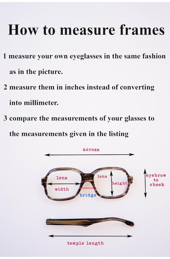 Vintage Eyeglasses 1980s/Glasses/New Old Stock/hi… - image 7