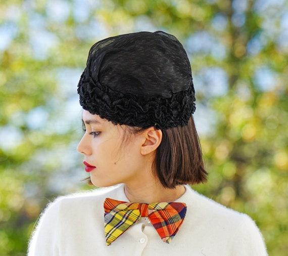 Antique Victorian Boudoir Cap, 1910s-1920s Hat, A… - image 2