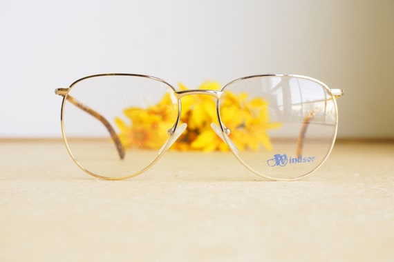 Vintage Eyeglasses 1980s/Glasses/New Old Stock/hip