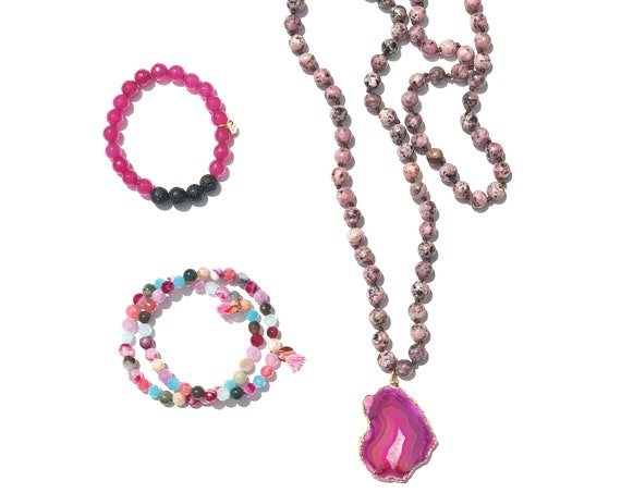 Necklace and Bracelets Set