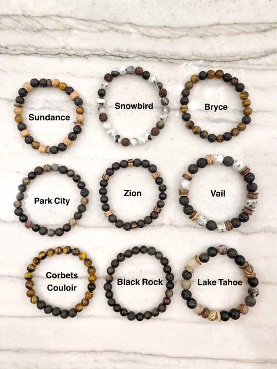 Mens Quest Stones bracelets