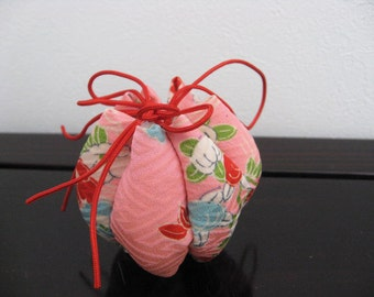 SALE,20%OFF Ornament ,pink,flower,silk kimono fabric #2
