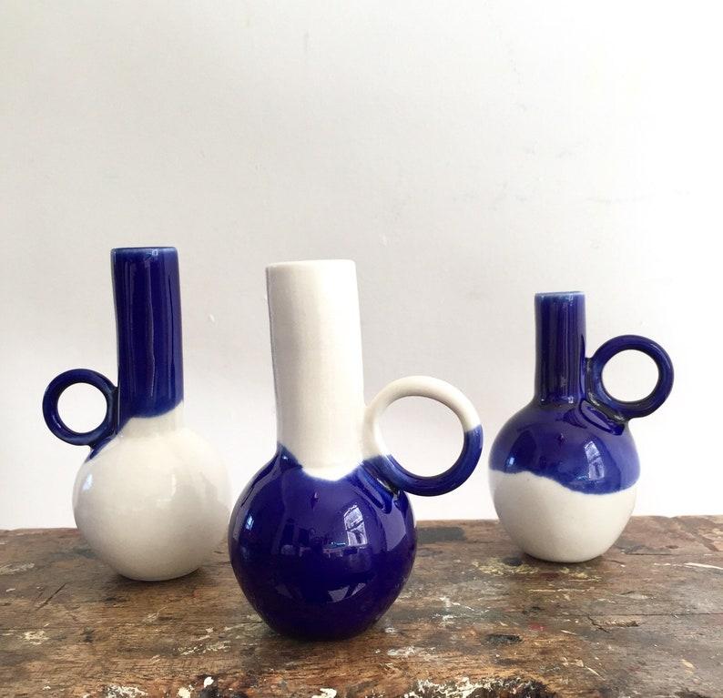 Handmade Porcelain Bud Vase Mini Vase Porcelain Vase Etsy